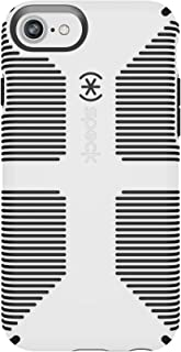 Speck Products CandyShell Grip iPhone 7 Case (Also Fits iPhone 6 and iPhone 6S), White/Black