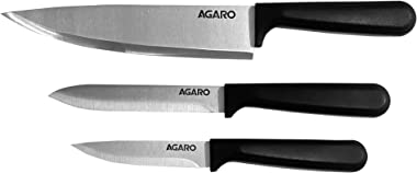 AGARO Stainless Steel Knife Blister, Silver