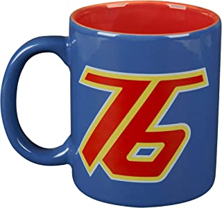 JINX Overwatch Soldier: 76 Ceramic Mug, Blue/Red, 11 ounces