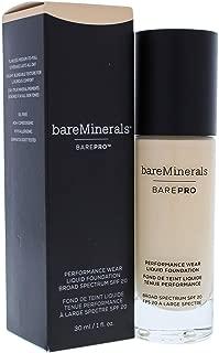 bareMinerals Barepro Performance Wear Liquid Foundation SPF 20 07 Warm Light for Women, 1 Ounce