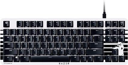 Razer BlackWidow Lite TKL Tenkeyless Mechanical Keyboard : Orange Key Switches - Tactile & Silent - White Individual Key L...