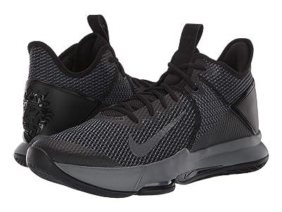 Nike Lebron Witness IV (Black/Black/Iron Grey/Anthracite) Men