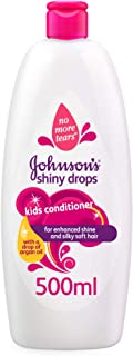 JOHNSON'S Baby, Kids Conditioner, SHINY DROPS, 500ml