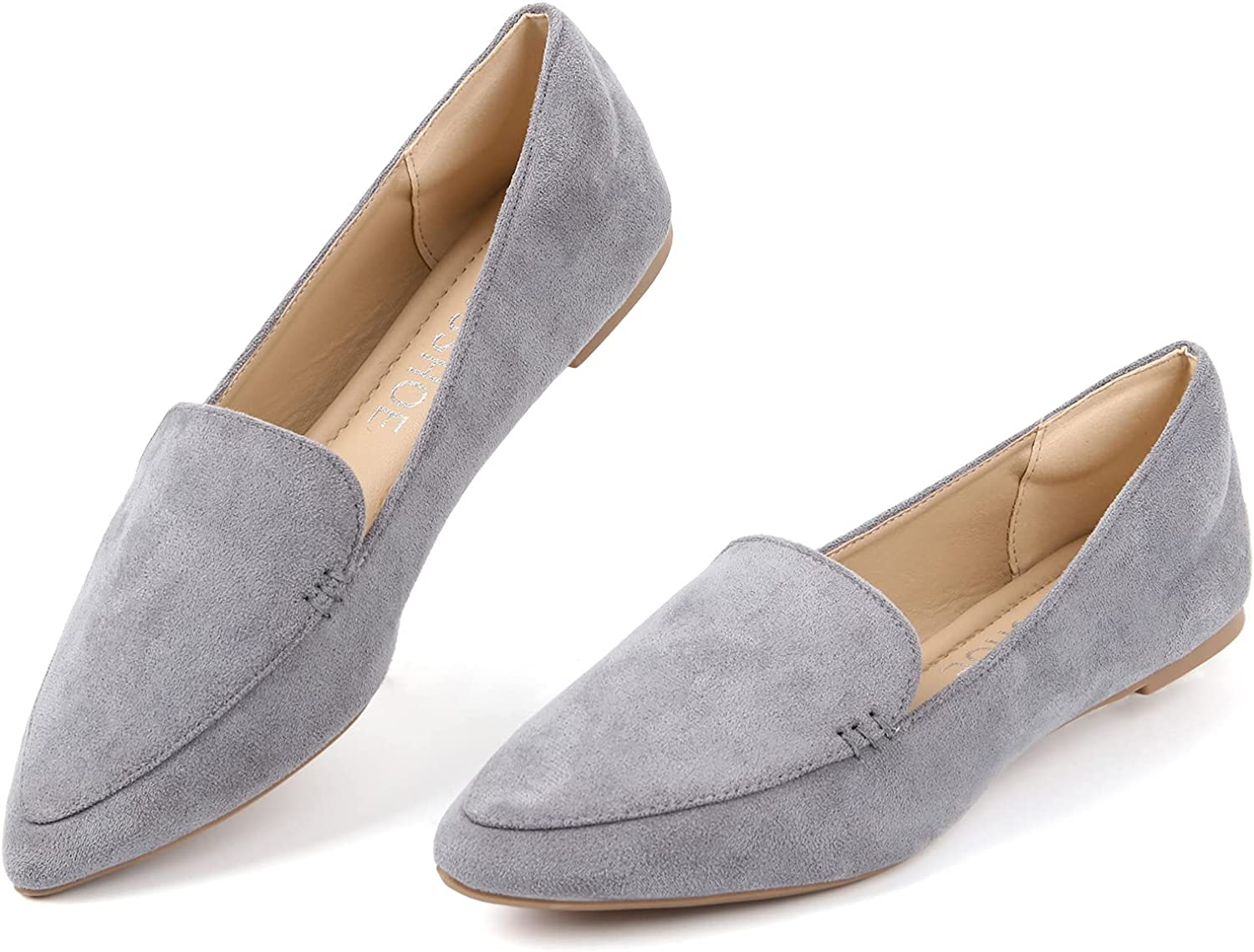 MUSSHOE Loafers for Women Comfortable Pointed Inexpensive Toe Women's Loafer Japan's largest assortment