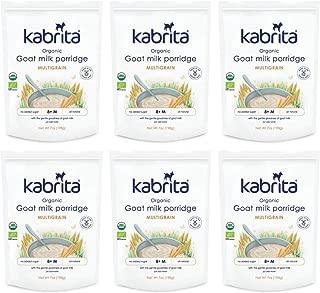 Kabrita Organic Goat Milk Porridge, Multigrain, (Pack Of 6)