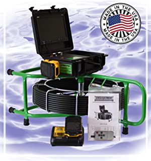 SECON-Extreme 150' Micro Cordless Color Sewer Camera Made in The USA by Sewer Equipment Company of Nevada Designed for 1½