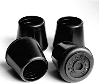 Rubber Cane Tips 7/8 Inch - Set of 4 Pieces