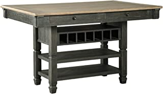 Ashley Furniture Signature Design - Tyler Creek Counter Height Dining Room Table - Black/Gray