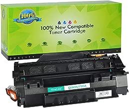 NineLeaf Compatible Toner Cartridge Replacement for HP Q7553A 53A Laserjet M2727 MFP M2727nf MFP M2727nfs MFP P2015 P2015d P2015dn P2015x Printer (Black,1 Pack)