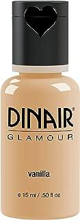 Dinair Airbrush Makeup Foundation | Vanilla | GLAMOUR: Natural, Light coverage, Matte 0.50 oz.