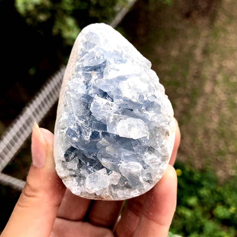 JSJJATQ Gemstone 1pcs Blue Ranking TOP2 Crystal cave Quartz Washington Mall Celestite