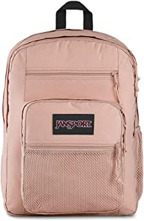 Big Campus 15 Inch Laptop Backpack - Lightweight Daypack, Rose Smoke