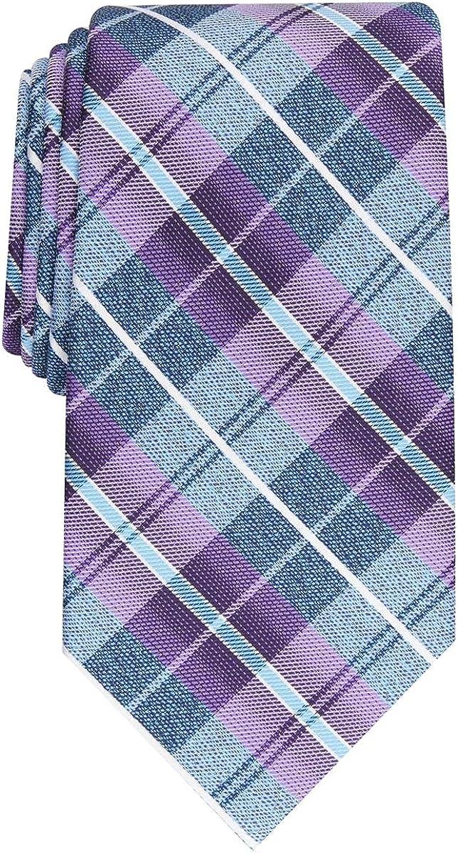 Perry Ellis Portfolio Mens Dever Professional Business Neck Tie Purple O/S