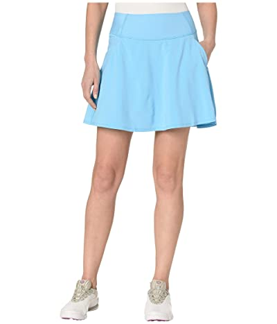 PUMA Golf PWRSHAPE Solid Woven Skirt (Ethereal Blue) Women