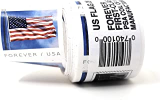 USPS 2019 US Flag Roll of 100 Forever First Class Postage Stamps
