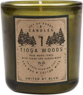 United By Blue - 8.5 oz. Tioga Woods Out-of-Doors Candle