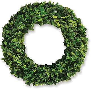 Napa Home & Garden 12-inch Preserved Boxwood Wreath