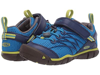 KEEN Kids Chandler CNX (Toddler/Little Kid) (Brilliant Blue/Blue Depths) Boys Shoes