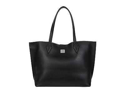 MCM Yris Shopper Medium (Black) Bags