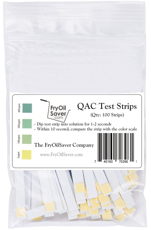 FryOilSaver Co, QAC Test Strips, Restaurant Quaternary Ammonium