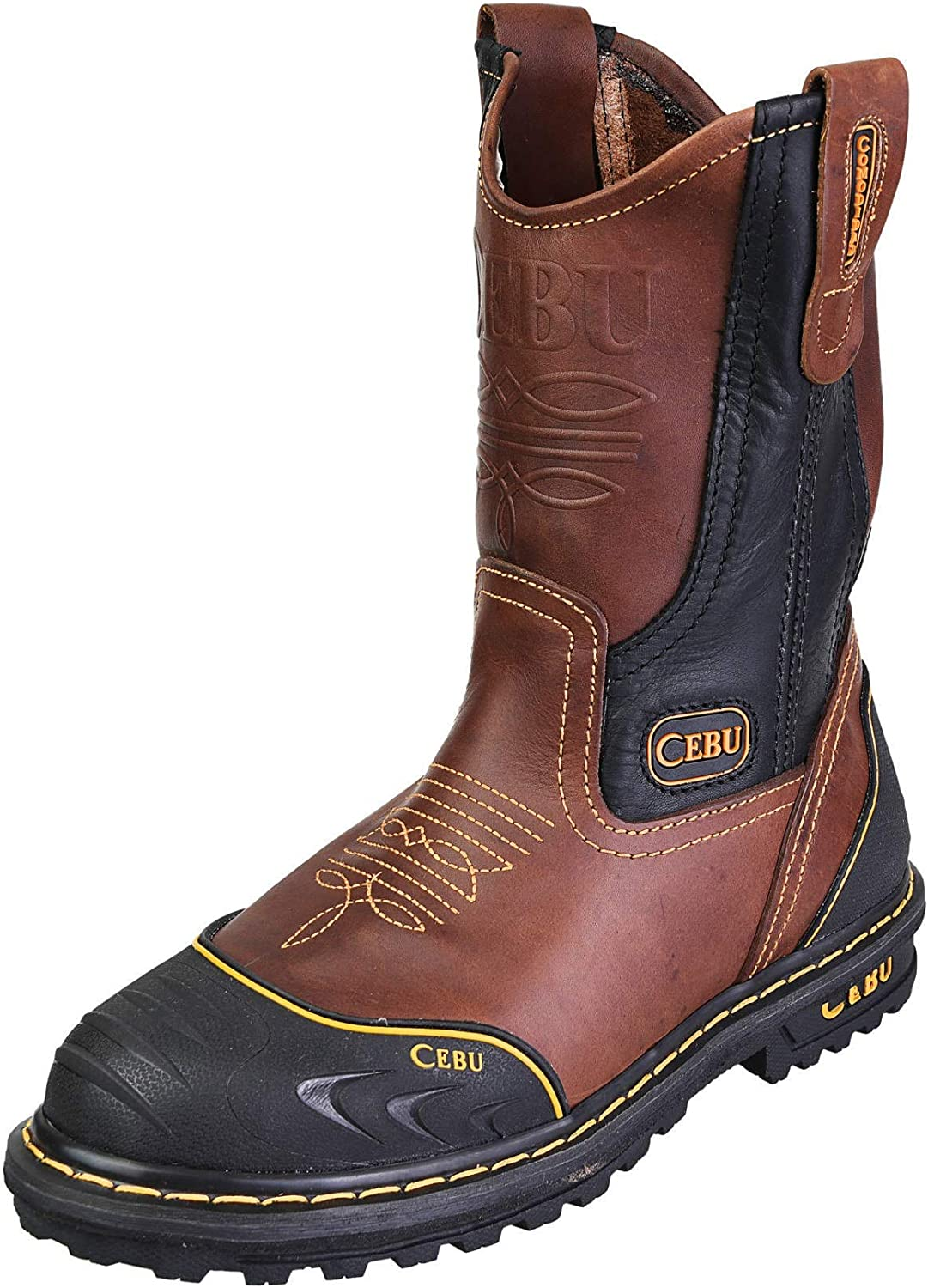 CEBU Men's Soft Toe Work Finally Max 68% OFF resale start Boots Safe Industrial Construction and