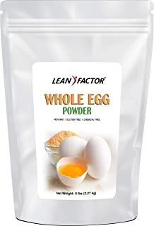 Dehydrated Egg Powder - Whole Dried Eggs (White + Yolk) - Shelf Stable Food for Emergency & Survival Long Term Storage - All Natural Protein - Keto & Paleo Friendly - Non GMO, Gluten Free - 5 lb