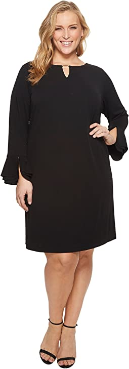 Calvin Klein Plus - Plus Size Triple Flare Sleeve Dress