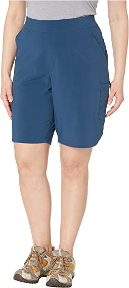Plus Size Place To Place™ Long Shorts