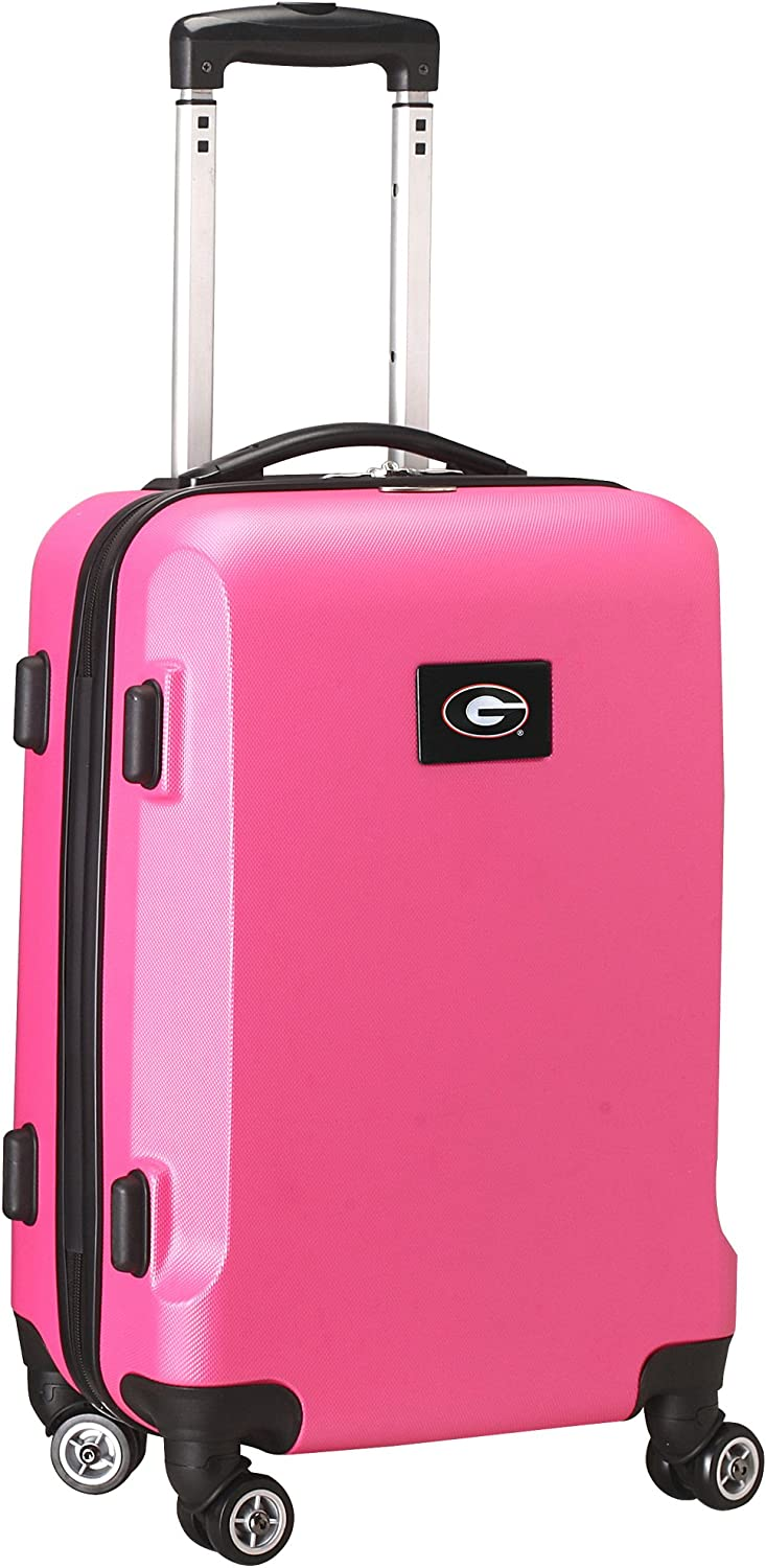 Pink Denco NCAA Carry-On Hardcase Spinner