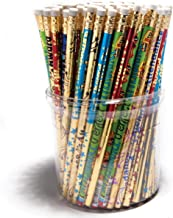 Attendance #2 Pencil Tub, Assorted Designs, 144 Count