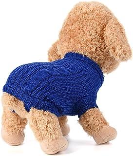 犬服 Yolaird テディ小型犬の服コーンミルクタイプのセーター 防寒 コート 人気 ファッション 小中型犬服 猫服 ペット用品 ドッグウェア お散歩お出かけウェアに ミニオン