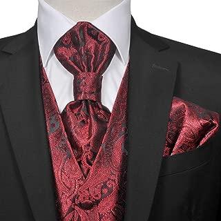 Amazon.es: chaleco y corbata boda - Hombre: Ropa