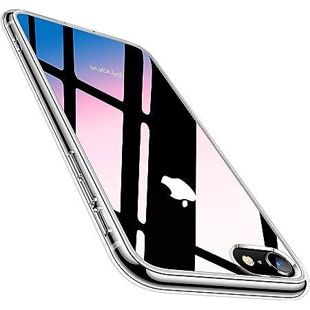 TORRAS iPhone SE 用ケース 第2世代 iPhone 8 用ケース iPhone 7 用ケース強化ガラス 日本旭硝子製 クリア Fancy Series