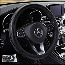 Bark Style Universal 15 inch Easy Carry KAFEEK Steering Wheel Cover,Warm in Winter and Cool in Summer Odorless Microfiber Breathable Cloth Anti-Slip