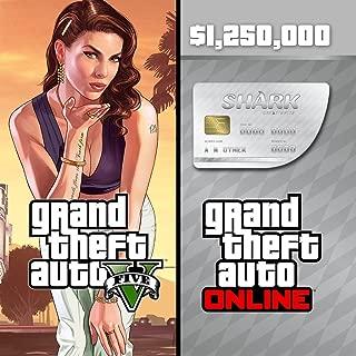 Grand Theft Auto V & Great White Shark Cash Card Bundle - PS4 [Digital Code]