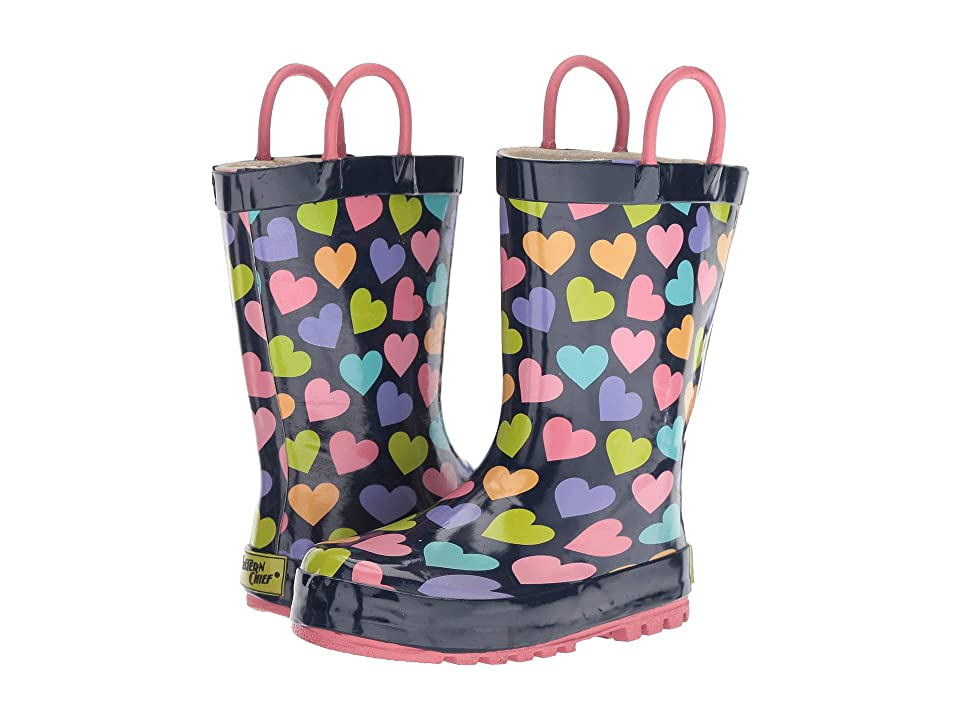 Western Chief Kids Happy Hearts (Toddler/Little Kid) (Multi) Girls Shoes