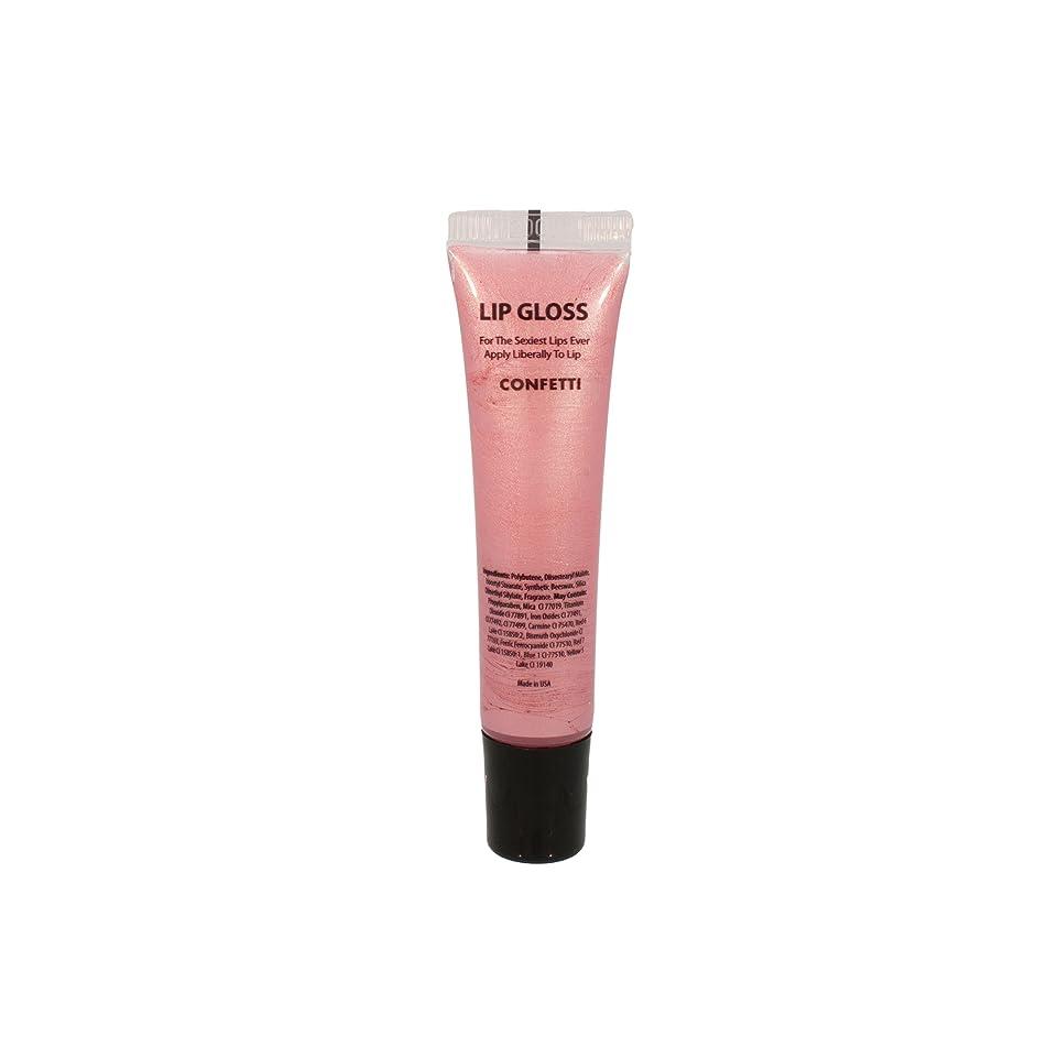 Lip Gloss Lacquer Squeeze Tube by Pree (Confetti)