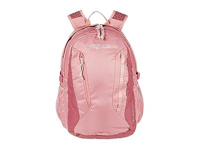 JanSport Agave (Mauve Glow/Slate Rose) Backpack Bags