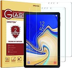 Samsung Galaxy Tab S4 Screen Protector [2 Pack], OMOTON Tempered Glass Screen Protector for Samsung Galaxy Tab S4 10.5 inc...