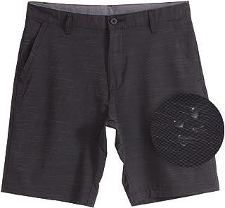 7059ceac94550 Burnside Hybrid Stretch Shorts for Mens Lightweight Boardshorts Grey