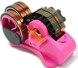 دستگاه تصفیه کننده نوار حرارتی برش چندگانه برای نوار انتقال حرارت ، پخش کننده نگهدارنده نوار حرارتی برای میز با 1 اینچ و 3 اینچ هسته (صورتی)