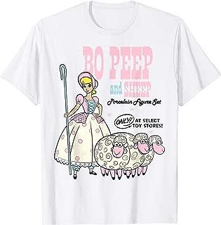 Disney Pixar Toy Story 4 Bo Peep and Sheep Advertisement T-Shirt