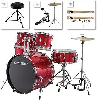 Best red ludwig drum set Reviews