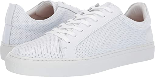 White Perforated