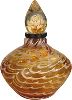 hand blown art glass perfume bottles