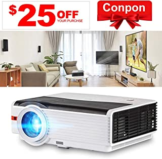 "LCD LED Outdoor HD Projector Multimedia Digital Movies Home Theater Projector 5000 Lumen, WXGA, 200"" Dispaly, 50000hrs Lam..."