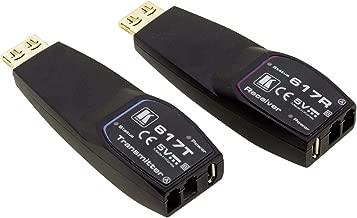 Kramer 617R/T 4K HDR HDMI Fiber Optic Extender (Transmitter/Receiver) Set Over 2LC MM FC (656ft/200m)