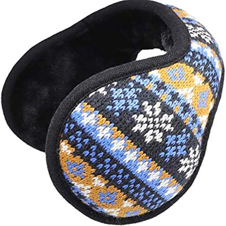 WeiMeet Men's Earmuffs Women's Earmuffs Boys Earmuffs Girls Earmuffs Foldable Unisex Adults Kids Earmuffs Ear Warmer Cover