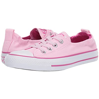 Converse Chuck Taylor(r) All Star(r) Shoreline Slip-On (Pink Foam/Active Fuchsia/White) Women
