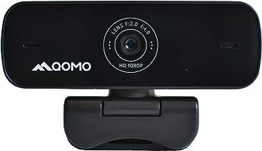 QOMO Webcam 1920 X 1080P, 5MP, CMOS, 30 FPS, 65 Degree, MIC Built in, USB 2.0, Web Camera